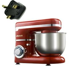 1200W 4L Stainless Steel Bowl 6-speed Kitchen Food Stand Mix