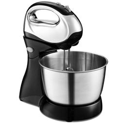 200 W 5-speed Stand Mixer with Dough Hooks Beaters Food Kitc