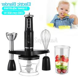 600W Hand Blender Stick immersion Mixer Variable Speed Food