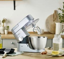 Kenwood Chef Kitchen Mixer KVC3100S Silver+Gift: Food Proces
