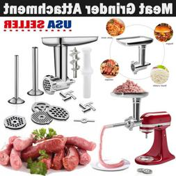 Durable Food Meat Grinder Attachment Sausage Stuffer for Kit