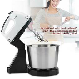 Electric 7 Speed Cake Multi Stand Mixer Food Mixing Bowl Bea