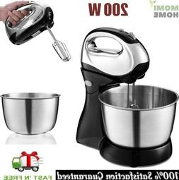 Electric Food Stand Mixer Tilt-Head Stainless Steel High Pow