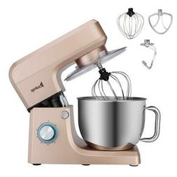 Electric Tilt-Head r Food  Stand Mixers 6 Speed 7.5QT 660W S