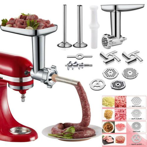 12pc meat grinder attachment for kitchenaid stand