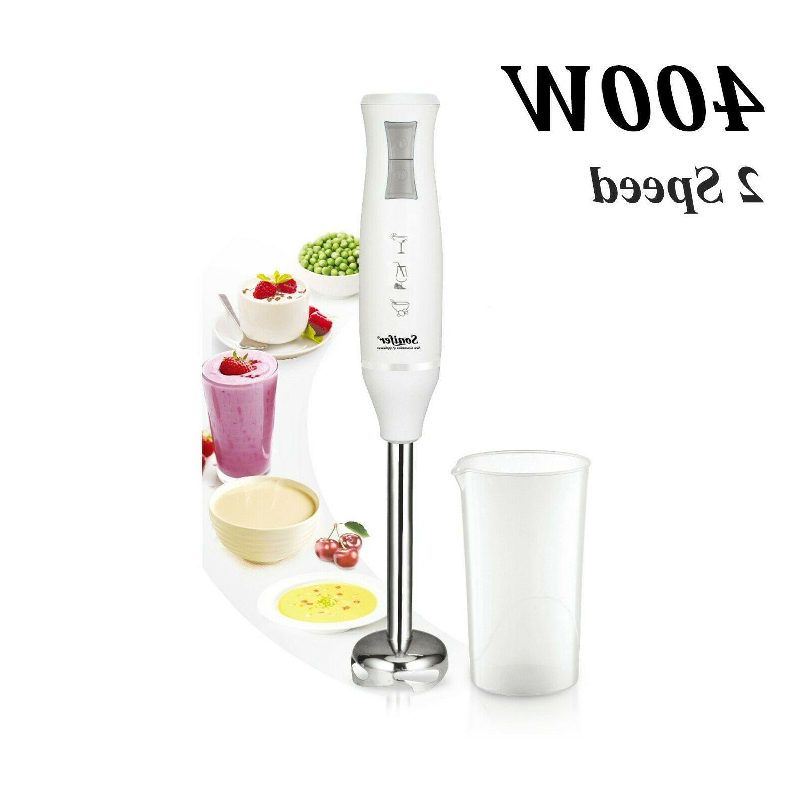 400w colorful 2 speed electric food blender