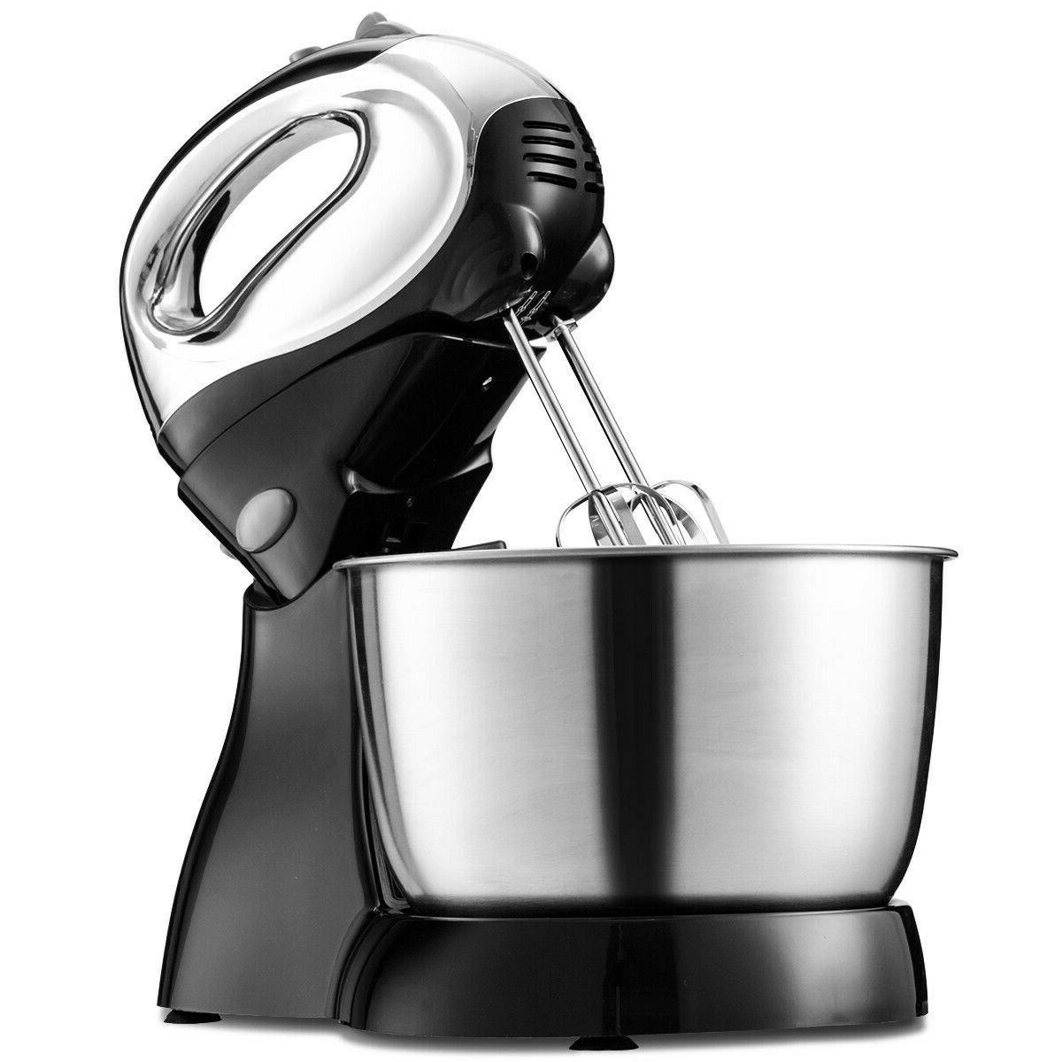 5 speed stand mixer with dough hooks