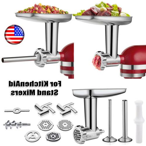 food meat grinder attachment for kitchenaid stand