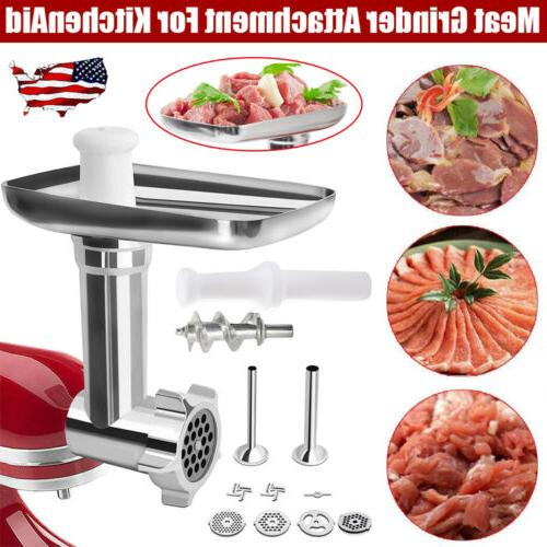 meat grinder food chopper stainless steel attachment