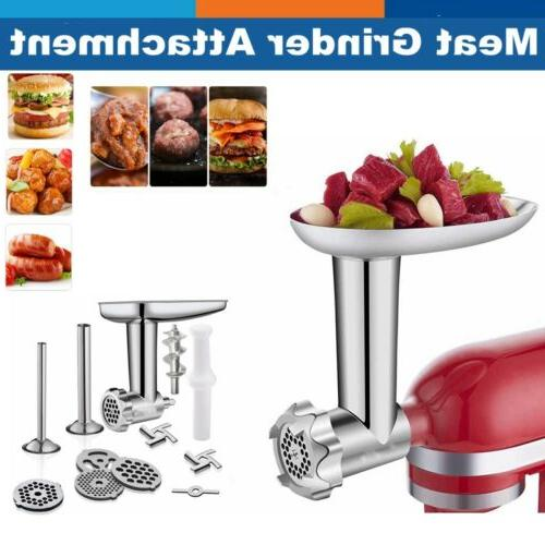 metal meat food grinder attachment for kitchen
