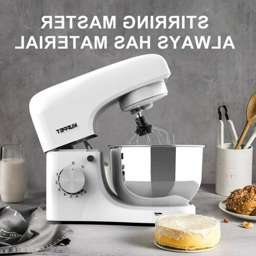 Stand 4.7QT Electiric Food Mixer Grinder Stainless