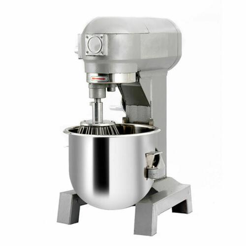 15Qt 580W Pizza 3-Speed Dough Food Gear Commercial