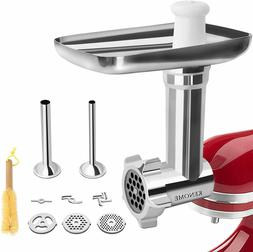 Metal Food Grinder Attachment for KitchenAid Stand Mixers Si