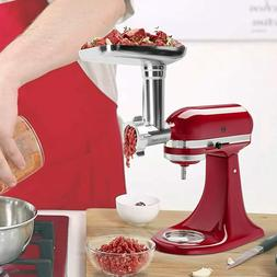 Metal Food Grinder Attachment for KitchenAid Stand Mixers