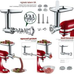 Metal Food Grinder Attachment For Kitchenaid Stand Mixer Inc