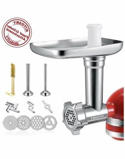 Metal Food Grinder Attachments for KitchenAid Stand Mixers,