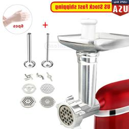 Metal Food Meat Grinder Attachment fit for Kitchenaid Stand