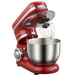 Mixer 4L Stainless Steel Kitchen Food Stand Bowl 6-speed Cre