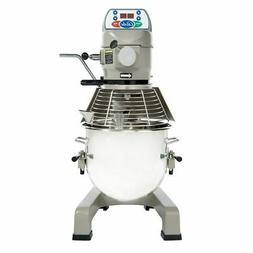 Globe Food SP20 3-Speed 20 Qt Planetary Mixer with Ingredien