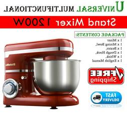 Stand Mixer 1200W 4L 6-speed Kitchen Electric Food Whisk Ble